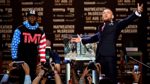 Mayweather vs McGregor: 'The Notorious' predicts he will knock Floyd Mayweather out