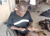 MP contracts physically challenged group to manufacture sandals