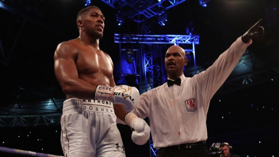 Anthony Joshua believes his street mentality proved crucial in Wembley win over Wladimir Klitschko