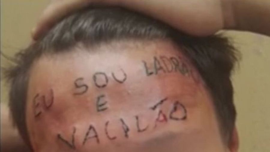 Brazil teen tattooed with 'I'm a thief' over bike theft accusations
