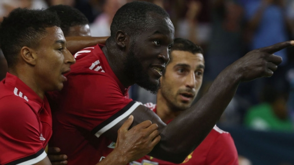 Manchester United 2-0 Manchester City: Romelu Lukaku and Marcus Rashford on target in derby win