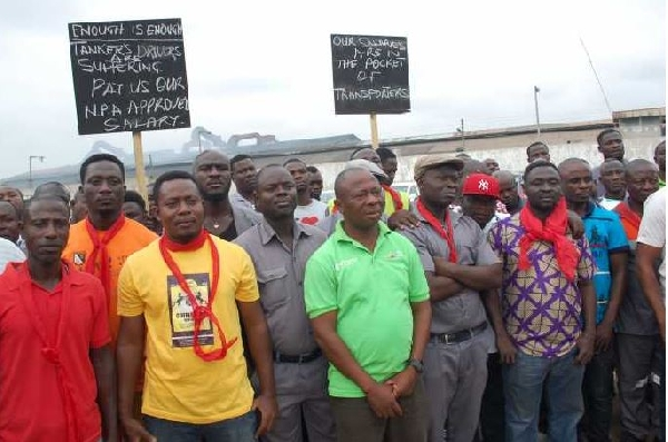 Ghana: Fuel tanker drivers refuse to call off strike despite promise by NPA Boss