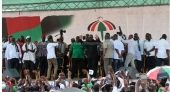 Hundreds attend NDC's 25th anniversary rally [Photos]