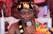 Galamsey fight has Improved quality of water - Breman chief to Akufo-Addo