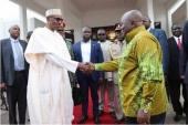 Buhari attends Ghana's 61st independence celebration
