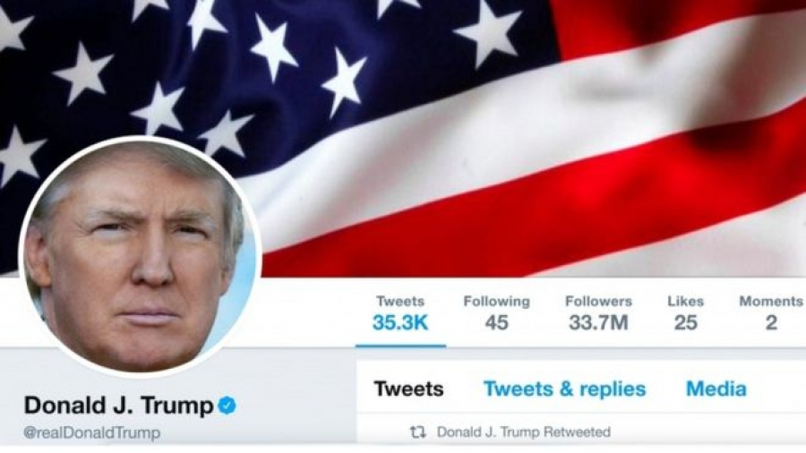 President Trump sued for blocking people on Twitter