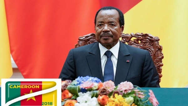 Cameroon:Paul Biya wins Cameroon presidential election with 71.28% (official)