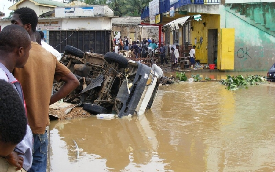 Accra: 5 confirmed dead after flooding -NADMO