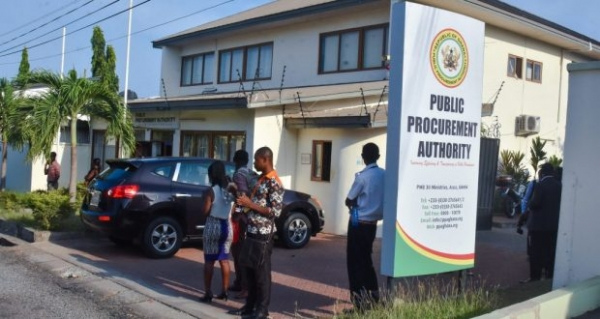 Authority to investigate all public procurement transactions for 2016