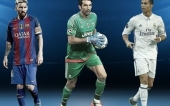 Buffon, Messi, Ronaldo on Player of the Year shortlist