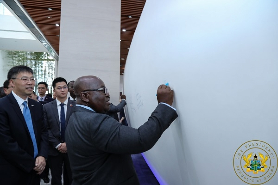 Ghana:Leading Chinese IT firm to set up W/A regional hqtrs in Accra