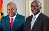 What's up with Mahama and Bawumia?