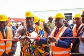 Veep unveils plant to produce sleepers for railway sector