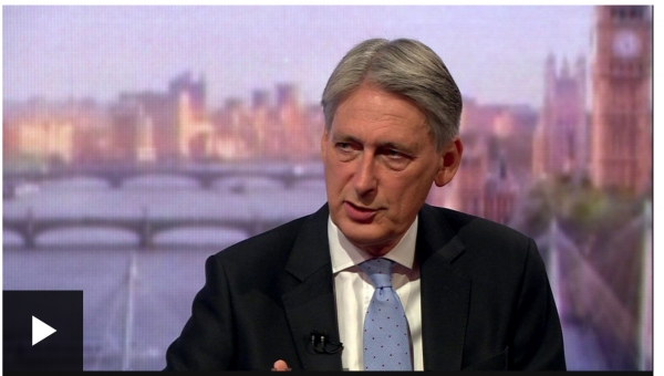 Chancellor Philip Hammond hits back over public pay leaks