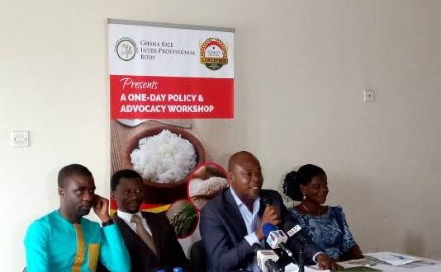 Use local rice for school feeding programme – Group