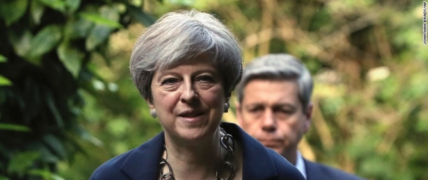 British PM Theresa May seeks lifeline after bruising election result