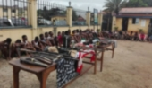 Ghana: 150 suspected criminals arrested