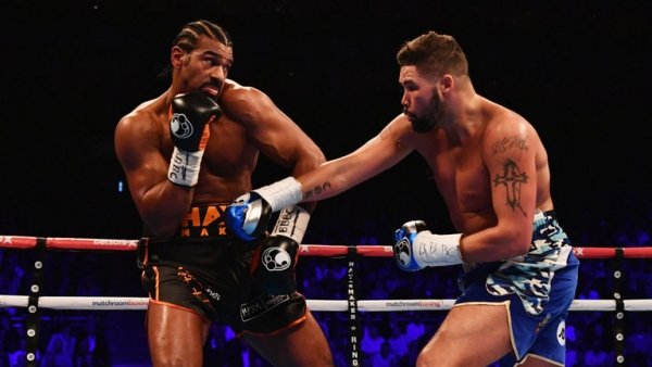 David Haye 'badly' needs Tony Bellew rematch, says Eddie Hearn