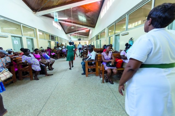 A/R: Children, adult male and female patients share ward due to lack of space