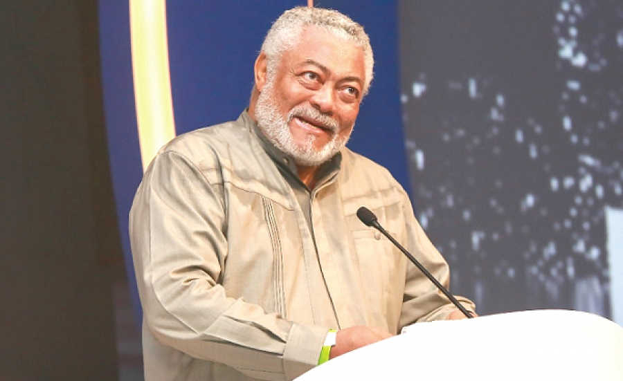 Change mindset to confront menace of corruption - Rawlings