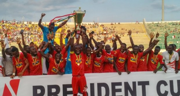Kotoko beat Hearts on penalties to retain UBA President's Cup