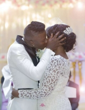 Wife of Stonebwoy 'heavily' pregnant