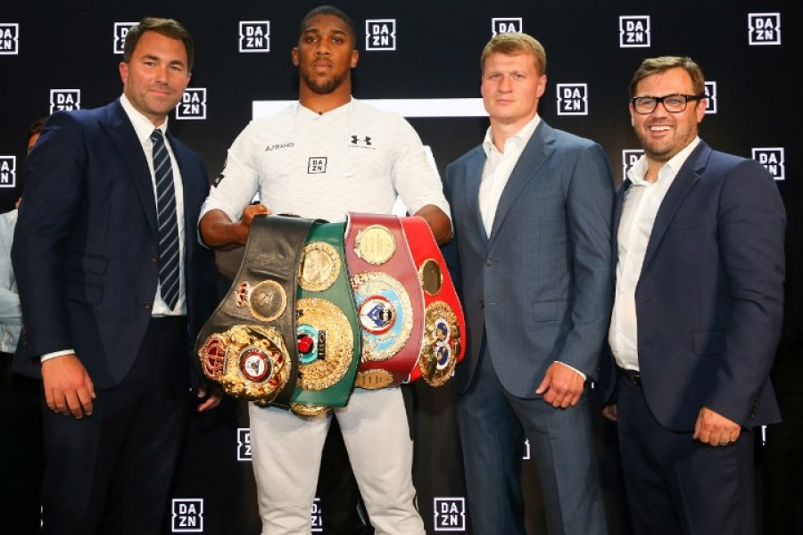 Hearn: Povetkin Had Loads of PED Tests For Joshua Fight