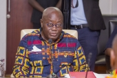 Akufo-Addo replies Ablakwa from USA; SHS has come to stay