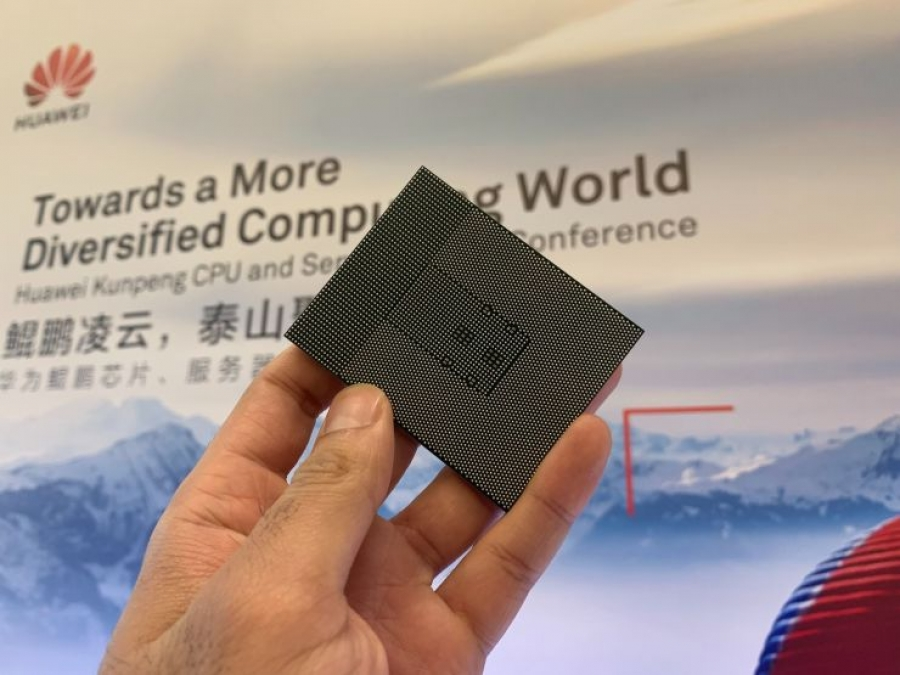 Huawei launches next-generation chipset for servers as it aims to become a top 5 cloud player