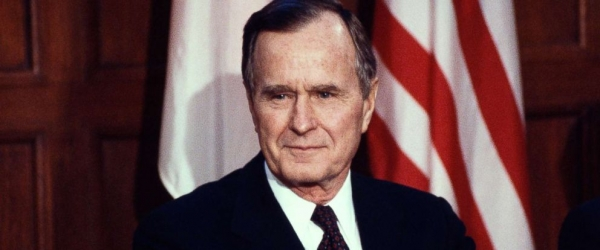 Capitol Hill ceremony to honor Bush offers bipartisan moment