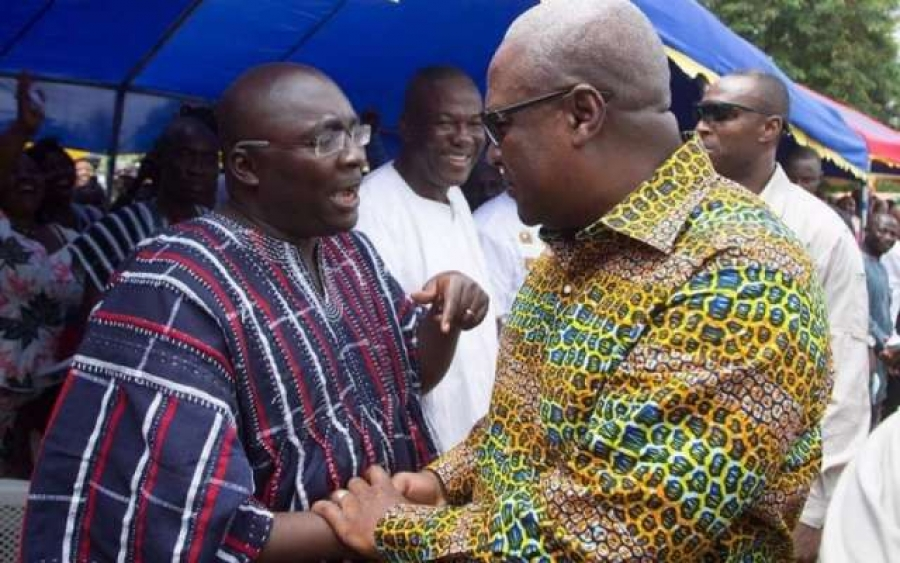 Mahama is clueless, he has no message for Ghanaians - Bawumia