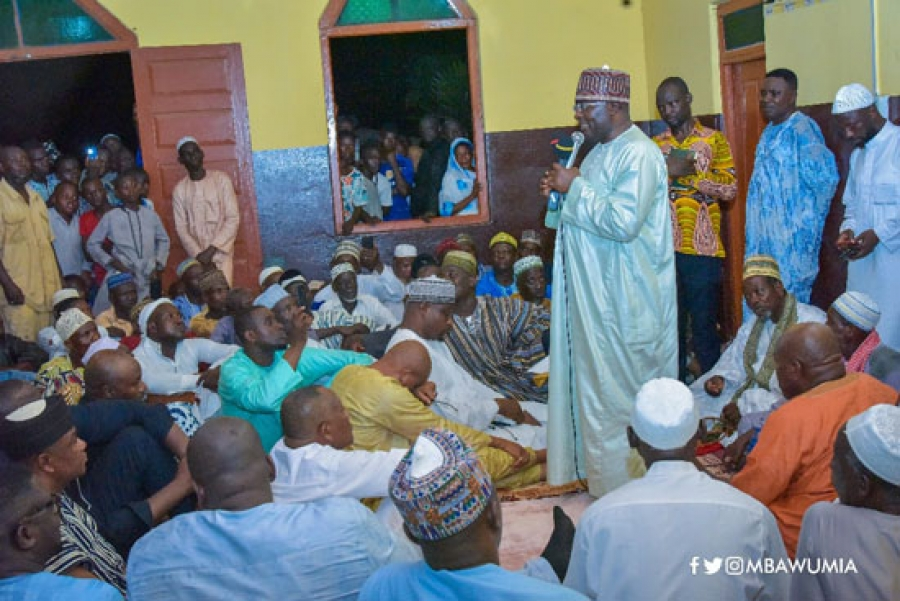Dr Bawumia begins nationwide Ramadan tour