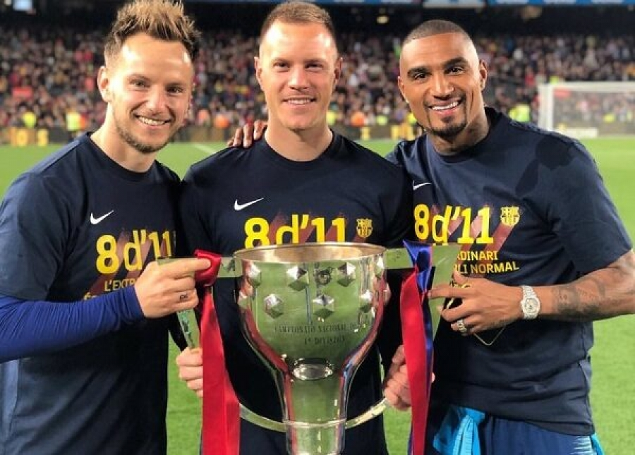K.P Boateng becomes first Ghanaian to win La Liga title with Barcelona