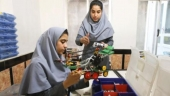 Afghan girl roboticists granted US visas